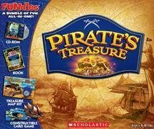 I Spy Pirate's Treasure: Book + Cd-rom + Treasure Map Kit + Constructible Card Game
