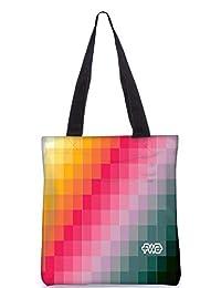 Snoogg Abstract Art Work Digitally Printed Utility Tote Bag Handbag Made Of Poly Canvas - B01C8M01S8