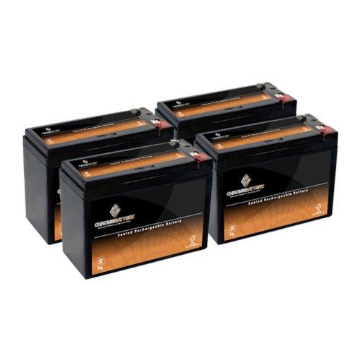 12V 10.5Ah Sla Battery For Electric Scooter Schwinn S180 / Mongoose - 4Pk