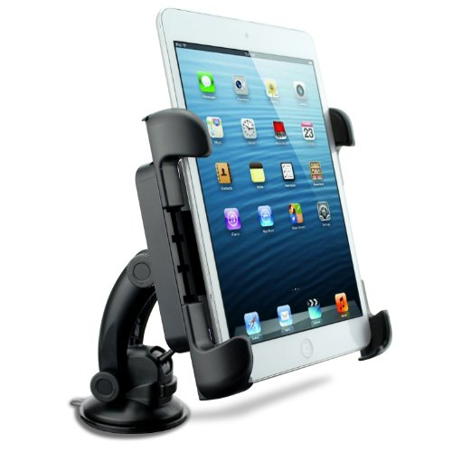 FRiEQ® Car Holder Mount for Tables: iPad, iPad Mini, Asus Eee Pad Transformer, Motorola Xoom, Samsung Galaxy Tab, Galaxy 10.1, Viewsonic Gtablet, Blackberry Playbook, HTC Flyer