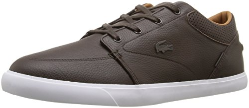 Lacoste Men's Bayliss Vulc Prm Us Spm Fashion Sneaker Fashion Sneaker, Dark Brown, 8.5 M US