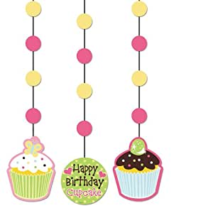 Charmed Celebrations Sweet Treats Cupcake Hanging Cutouts