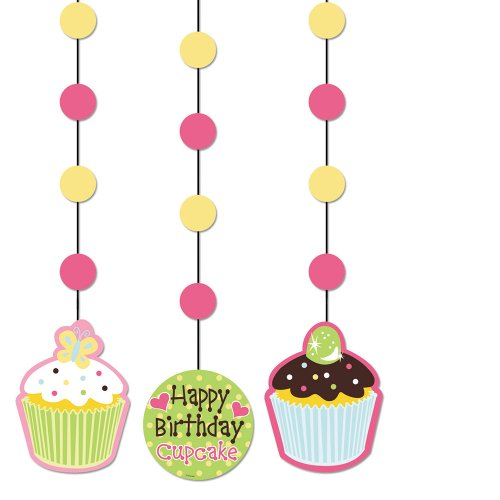Creative Converting Sweet Treats Hanging Cutout Party Decorations