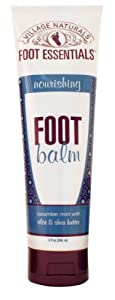 Village Naturals Foot Essentials Nourishing Foot Balm 9 fl oz