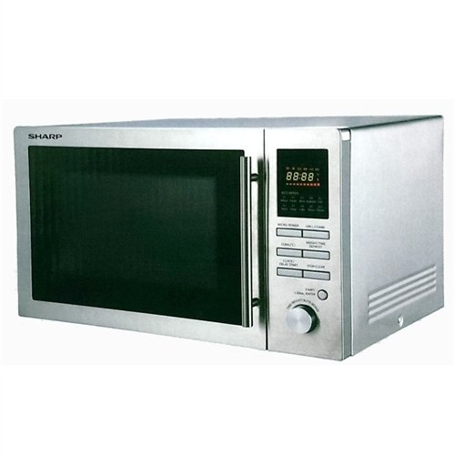 Sharp R-82A0(St)V 900-Watt Microwave Oven With Grill, 25-Liter front-546925