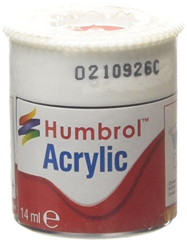 Humbrol Acrylic Paint, Red