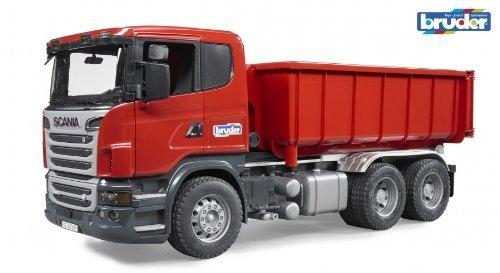 Bruder 03522 Scania R-Serie LKW mit Abrollcontainer