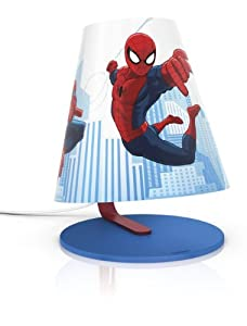 Philips Marvel Spider-Man Children's Table Lamp - 1 x 4 W Integrated LED by Philips