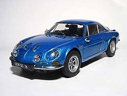 1974 Renault Alpine A110 1600SC Blue 1/18 by Kyosho 08482bl