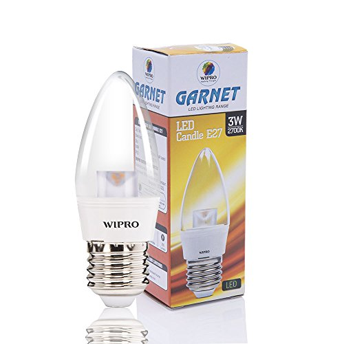 3W-Garnet-E27-Base-LED-Candle-Bulb-(Warm-White)