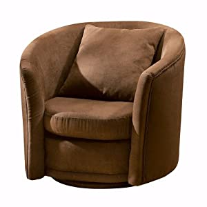 Home Decorators Collection Cancun Swivel Accent Chair Moroccan Brown