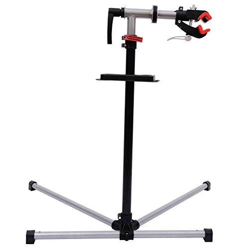Outsunny - Cavalletto supporto manutenzione per bicicletta riparazione bici - Qualità 5 Stelle!