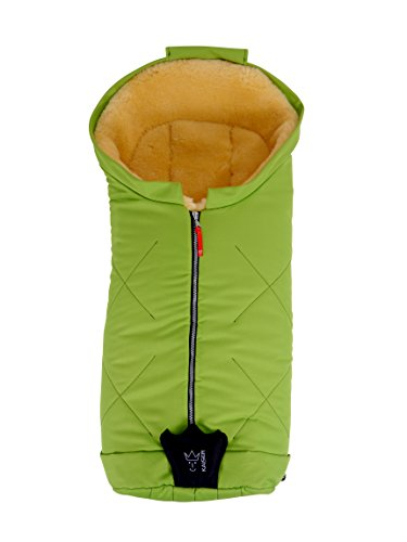 kaiser-iglu-medical-sheepskin-footmuff-lime