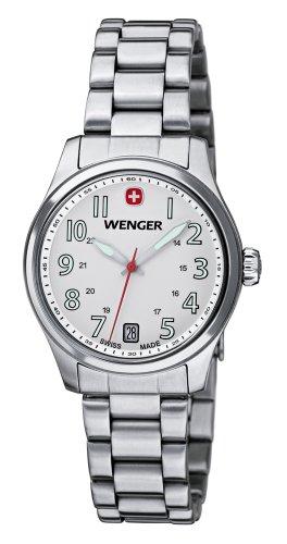 Wenger 01.0521.102 - Orologio da polso, donna, colore: argento