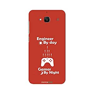 PosterHook Engineer- Gamer Redmi 2 Designer Case