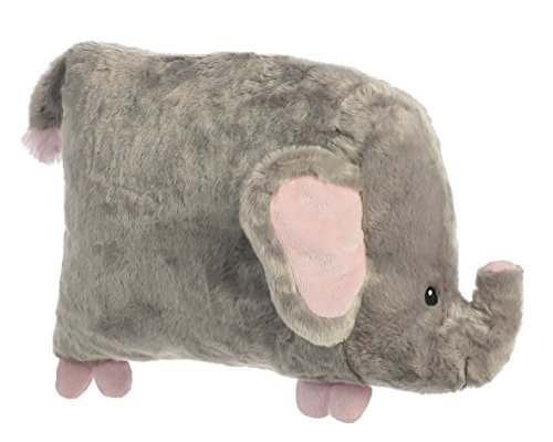 Aurora World Flattso Elephant Plush - 1