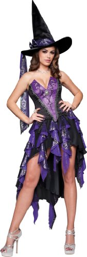 InCharacter Costumes Bewitching Beauty, Black/Purple, X-Large InCharacter Costumes B00C6U1YZC
