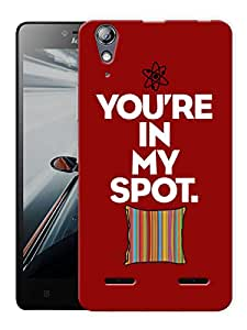 "Humor Gang Designer Printed Designer Mobile Back Cover For ""Lenovo A6000 - A6000 PLUS"" (3D, Matte, Premium Quality Snap On Case)"