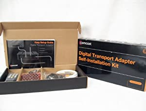 Comcast Xfinity Cable Digital Transport Adapter Dc50xu Box Only, No Power Supply. No Remote.