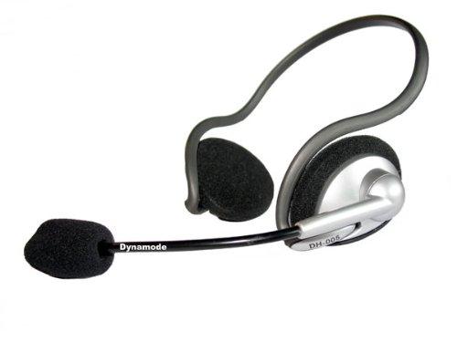 Dynamode DH 005 Backheld Kopfhörer Mit Boom Mic Skype VOIP GAMERS