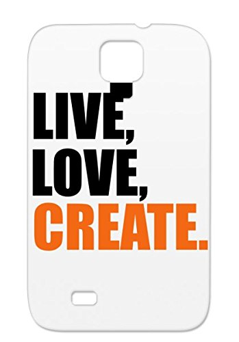 Durable Create For Sumsang Galaxy S4 Artist Miscellaneous Creative Painter Careers Professions Writer Tpu Bronze Cover Case front-1046288