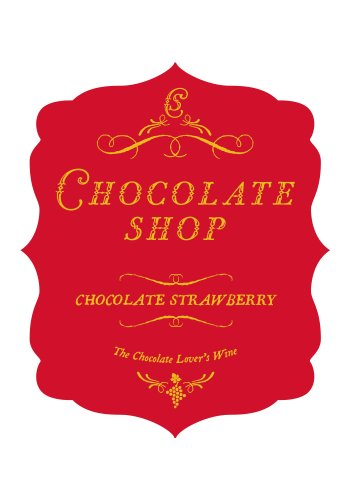 Nv Chocolate Shop Chocolate Strawberry 750 Ml