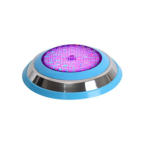 Galaxyhydro(Tm) 54W(18×3W) Led Wall Mounted Swimming Pool Light (Rgb)