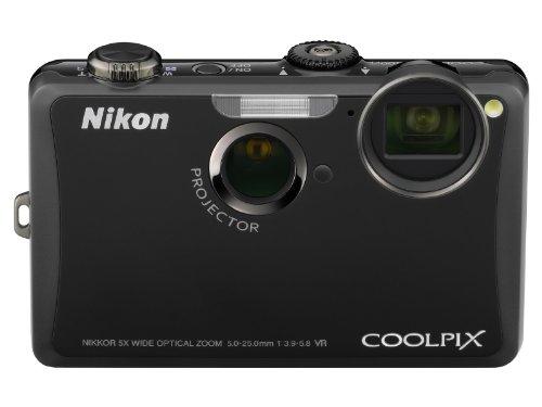 Nikon デジタルカメラ COOLPIX (クールピクス) S1100pj ブラック S1100PJBK 1410万画素 光学5倍ズーム 広角28mm 3型タッチパネル液晶プロジェクター