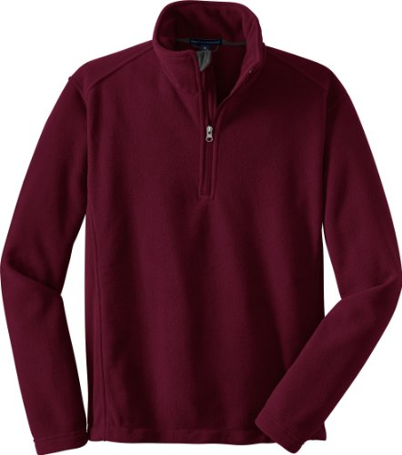 Port Authority 1/4-Zip Pullover Value Fleece Jacket - Size (X-Large) Color (Maroon) at Sears.com