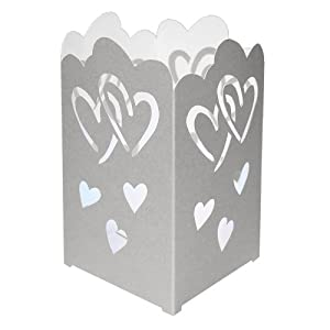 Click to buy Wedding Reception Decoration Ideas: Wedding Heart Tabletop Lanterns <br> from Amazon!