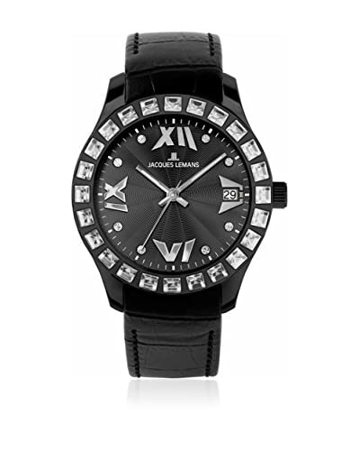 Jacques Lemans Reloj de cuarzo Rome 1-1571 Negro 37  mm