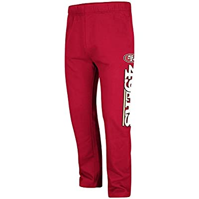 "San Francisco 49ers Majestic NFL ""Getting Started"" Men's Fleece Sweatpants - Red"