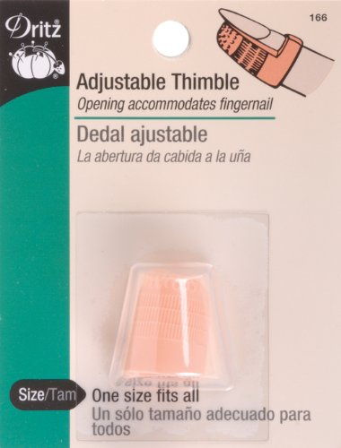 Find Bargain Dritz Adjustable Thimble