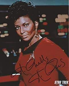 Star Trek Uhura 8x10 Photo Signed Autographed By Nichelle Nichols
