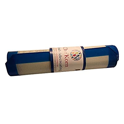 Che'korn Globewidecreating Silicone Baking Mat, 18x13 Blue.