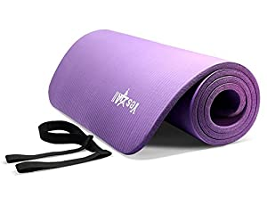 PURPLE NPR Yoga Mat 72x24x1/2