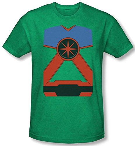 Martian Manhunter Costume Heather T-Shirt