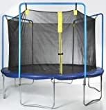 Trampoline Part Store 12'- 6 Strap Trampoline Replacement Safety Net, Fits Parkside, Sports Authority & Sportspower 6-pole/3-arch 12' Enclosures