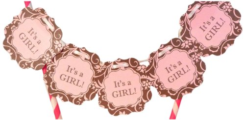 Bella Cupcake Couture It'S A Girl Itty Bitty Banner front-23268