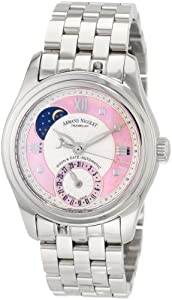 Armand Nicolet Women's 9151A-AS-M9150 M03 Classic Automatic Stainless-Steel Watch from Armand Nicolet