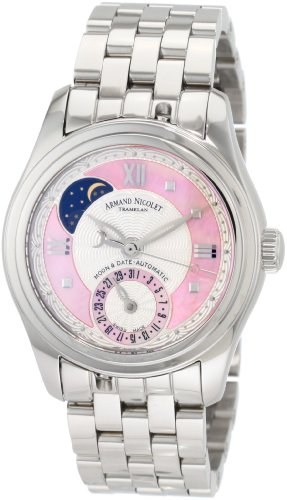 Armand Nicolet Women's 9151A-AS-M9150 M03 Classic Automatic Stainless-Steel Watch