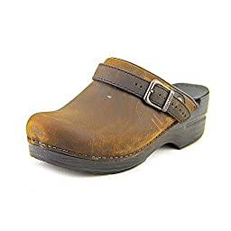 Dansko Womens Ingrid Box Antique Brown - 41 M EU