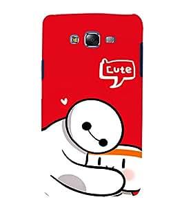 EPICCASE Cute Teddy cover Mobile Back Case Cover For Samsung Galaxy J5 (Designer Case)