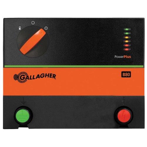 Gallagher G362504 B80 12-Volt Fencer, 55 Acre/8-Mile