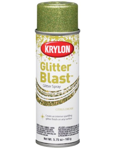 Krylon K03808 Glitter Blast, Citrus Dream