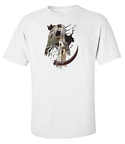 soul-eater-maka-albarn-anime-manga-t-shirt-herren-baumwoll-weiss-xxl