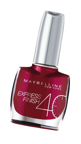 Maybelline Express Finish 40 Seconds Nail Varnish Number 165, Pearly Fuchsia 10 Ml (Maybelline Quick Dry Nail Polish compare prices)
