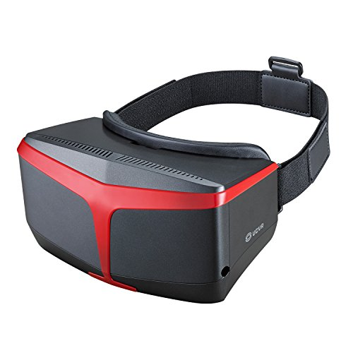 UCVR 3D VR Glasses Virtual Reality Headset Goggles Box for iPhone 6/6 plus,Android Samsung Galaxy S5/S6/S6 edge and Windows Phone-Newest Eyesight Protection Design for Adult and Kids-Black Color …