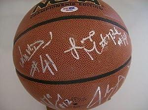 UCLA Bruins 2007-08 Team Signed Basketball #2 - PSA DNA Certified - Autographed...