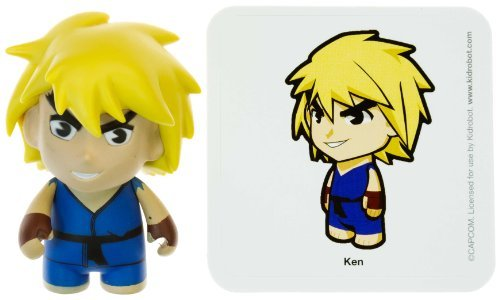 "Ken 2: Street Fighter x KidRobot ~3"" Mini-Figure Series - 1"